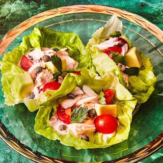 Crab Louie Salad Lettuce Cups recipe   Epicurious.com.