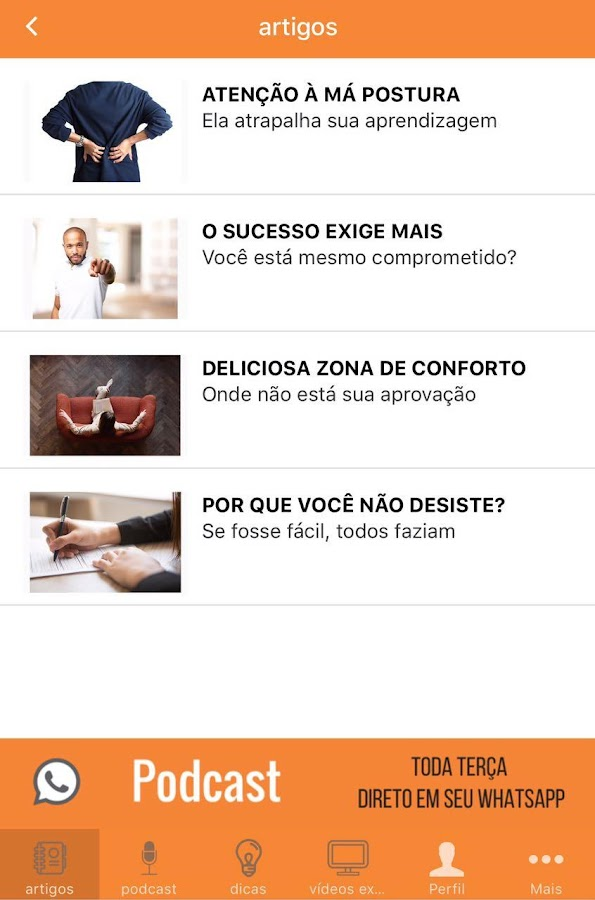 Concursório VIP- screenshot