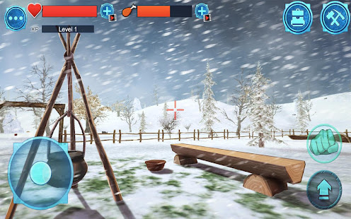 Остров Выживания 3D Зима_4