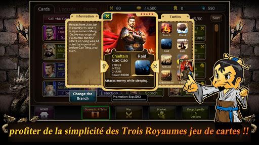 Carte trois royaumes  captures d'écran 1