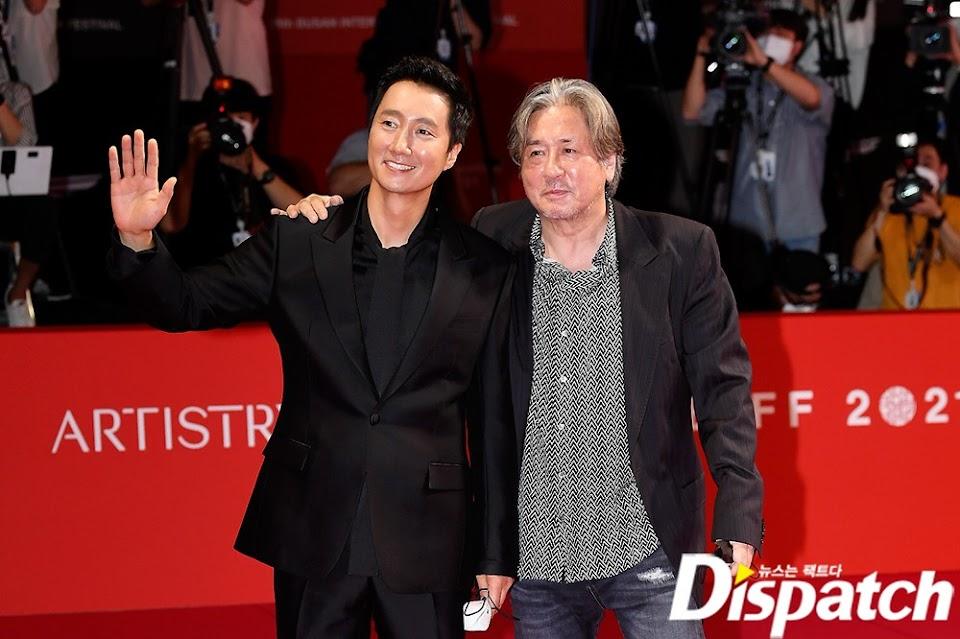 Park Hae Il and Choi Min Sik