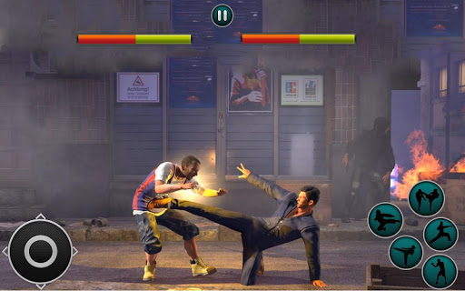 Code Triche Kung Fu Karate -Street fighter APK MOD screenshots 2