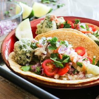 Broccolini Tempura Tacos