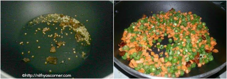 carrot beans stir fry recipe