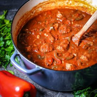 Braised Veal and Peppers Recipe