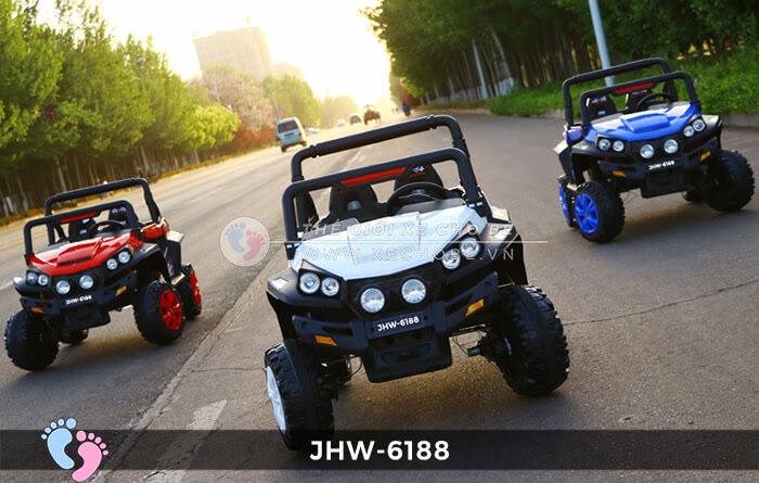 Xe ô tô điện cho bé 4 động cơ JHW-6188 1