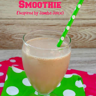 Peanut Butter Smoothie (Inspired by Jamba Juice).