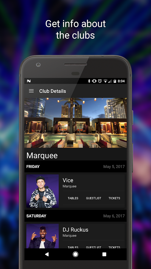 Discotech: VIP bottle service, guestlists, tickets- screenshot