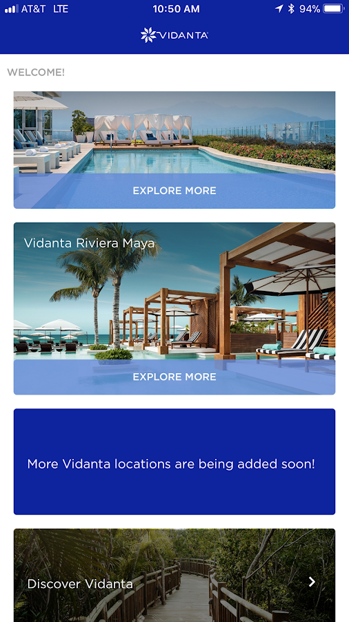 VidantaResort- screenshot