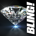 Diamond Live Wallpaper BLING! icon