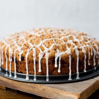 Cinnamon Zucchini Streusel Coffee Cake