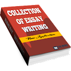 Collection of essay writing icon