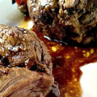 Balsamic Glazed Steak Rolls