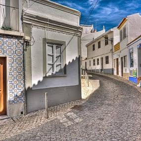Lagos by Paweł Mielko - City,  Street & Park  Street Scenes ( building, buildings, algarve, architectural detail, road, architecture, portugal, lagos, city,  )