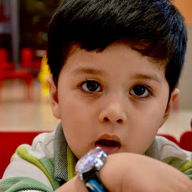 Whats the Time Kid by Nadeem M Siddiqui - Babies & Children Children Candids