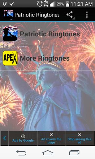 Patriotic Ringtones Free