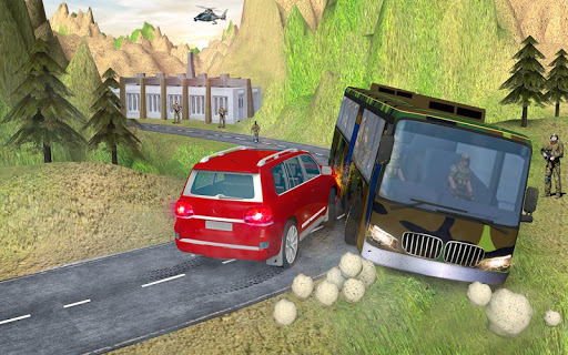 indian army bus driving: military truck mission 1.0 screenshots 16