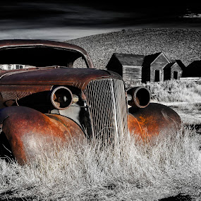 Rust by Terry Scussel - Transportation Automobiles ( vintage auto, bodie, rusting auto,  )