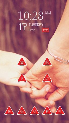 Hands Hold Together Slightly