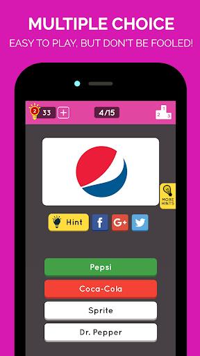 Brand Logo Quiz: Multiple Choice Game 2.0.2 screenshots 1