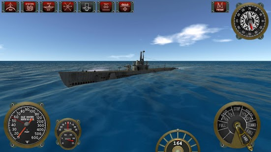 Silent Depth Submarine Sim- screenshot thumbnail