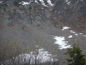 Photo: Look closely. Can you see the mountain goats?