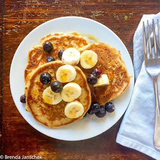 Spelt and Buckwheat Pancakes Recipe