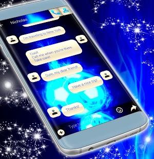 Sport SMS téma Neon - náhled