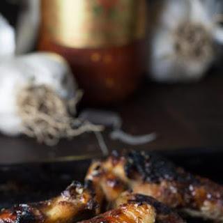 Ultimate Garlic Chicken Wings.