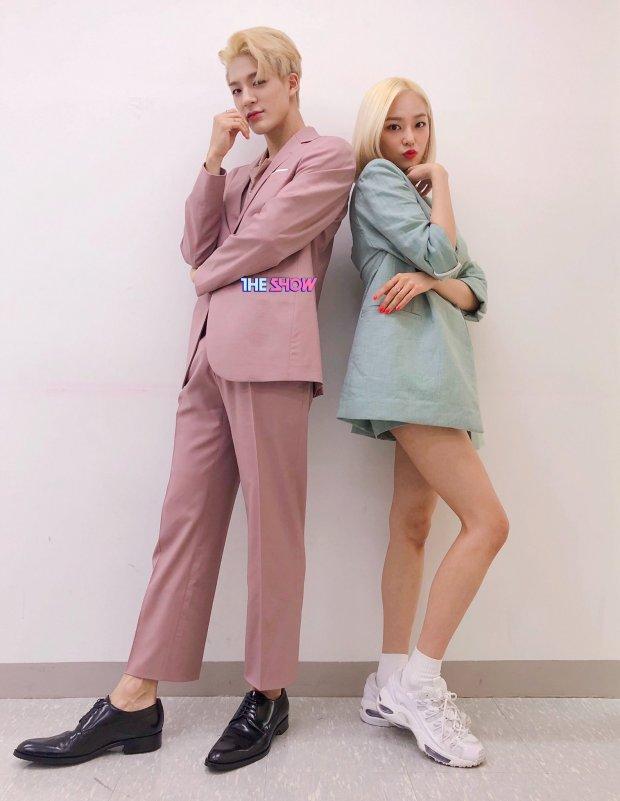 nct jeno_clc yeeun_the-show