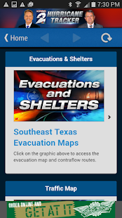 KPRC Hurricane Tracker- screenshot thumbnail