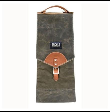 Tackle - Waxed Canvas Stick Bag - Grön