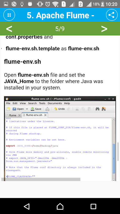 Guide Apache Flume Pro- screenshot