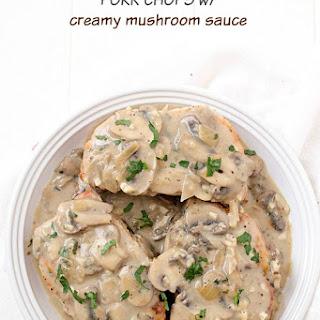 Pork Chops with Creamy Mushroom Sauce Recipe