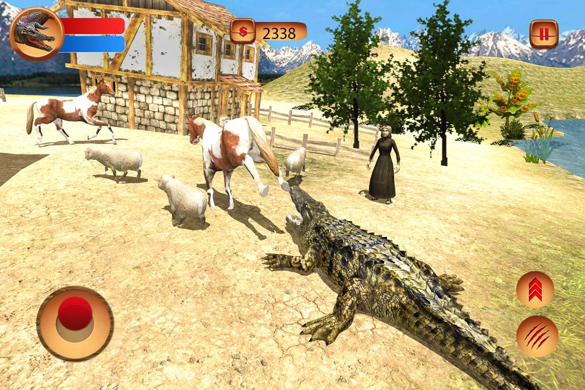 Ultimate Angry Crocodile Sim- screenshot
