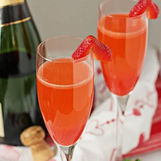 Strawberry Bellinis