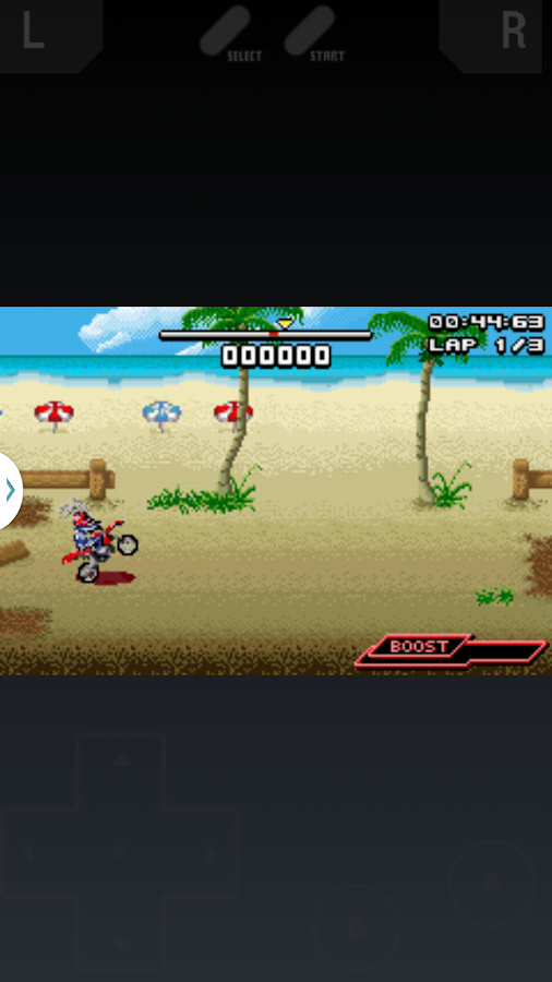 GBA Emulator- screenshot