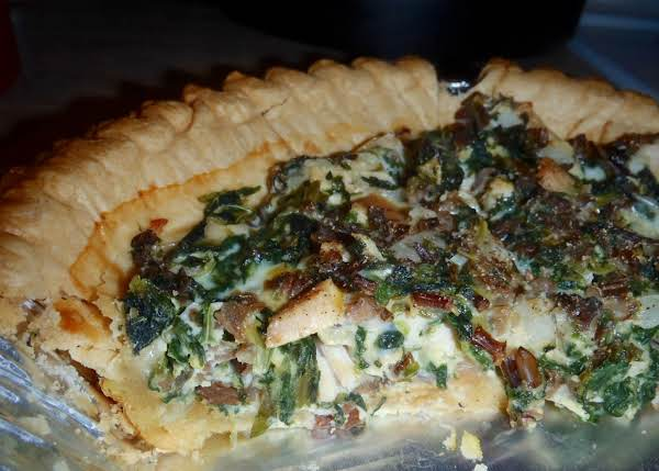 Turkey And Wild Rice Quiche Recipe