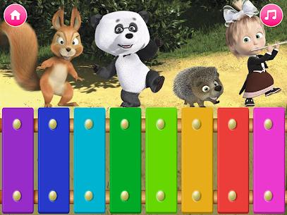 Masha and the Bear. Educational Games 6