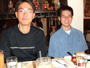 Photo: Choong and Daniel