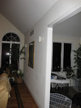 Photo: (Before) Flores' Family room Medford, NJ