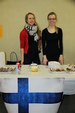 Photo: International food festival - suomalaisten mustikkapiirakkaedustus