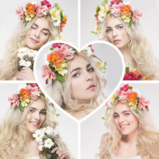 Photo Collage-Mirror Photo Icon