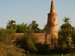 Photo: an old mosque outside Karima