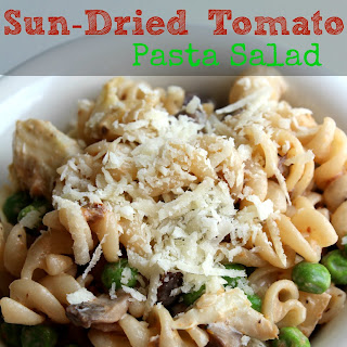 Creamy Sun-Dried Tomato Pasta Salad