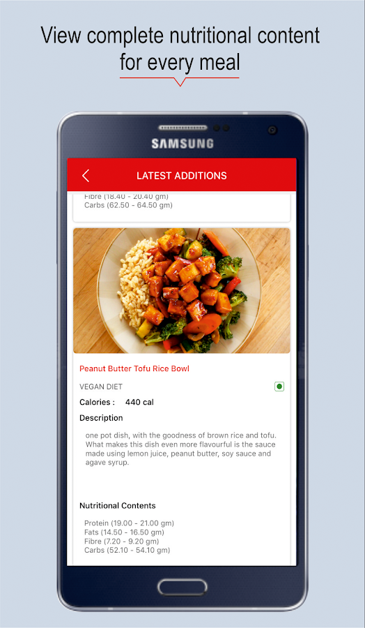 Liveat - Health food delivery- screenshot