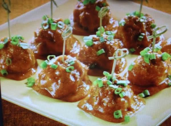 Enchilada Meatballs Recipe
