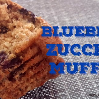 Blueberry Zucchini Muffins | Vegan Muffins