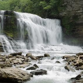 Cummins Falls, TN by Ross Bolen - Landscapes Waterscapes