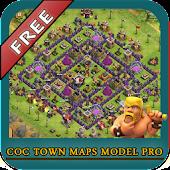 COC Town Maps Model Pro